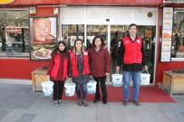 Erzincan'da Yaban Hayatı İçin Doğaya Yiyecek Bırakıldı