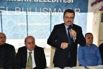 SPOR MERKEZİ - Genç, Spor Caimasını Topladı