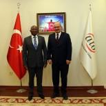 ANKARA TİCARET ODASI - Güney Afrika Büyükelçisi Malefane'den ATO'ya Ziyaret