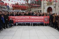 ÇAM SAKıZı - İstanbul Muhtarlar Federasyonu Mehmetçik'e Destek İçin Sınıra Gidiyor