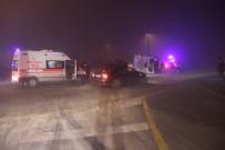 GİZLİ BUZLANMA - Konya'da Yolcu Otobüsü Devrildi Açıklaması 11 Yaralı