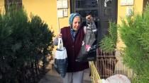 BEBEK ARABASI - Muazzez Teyzenin 5 Kilometrelik 'İyilik' Yolculuğu