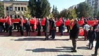 Savur'da Zeytin Dalı Harekatına Bayraklı Yürüyüşle Destek Verildi