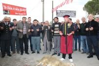 HACI BEKTAŞ-I VELİ - Şehzadeler Belediyesi Yeniköy Hacı Bektaş-I Veli Kültür Merkezindeki Cemevinde Mehmetçik İçin Kurban Kesildi