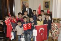 LOKMAN ERTÜRK - Şırnak'lı Öğrencilerin Ankara'da Anlamlı Ziyareti