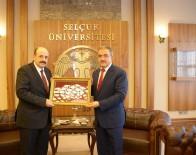 İBRAHIM HALıCı - YÖK Başkanı Saraç'tan, Selçuk Üniversitesine Ziyaret
