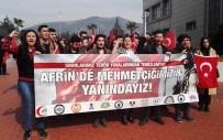 TÜRK ORDUSU - ADÜ'lü Gençler Afrin'de Mehmetçiğin Yanında