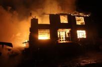 HASANLAR - AFAD'dan Yangınzedelere 42 Bin Lira Yardım