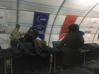Ak Parti Mardin'den Sığınmacılara Destek