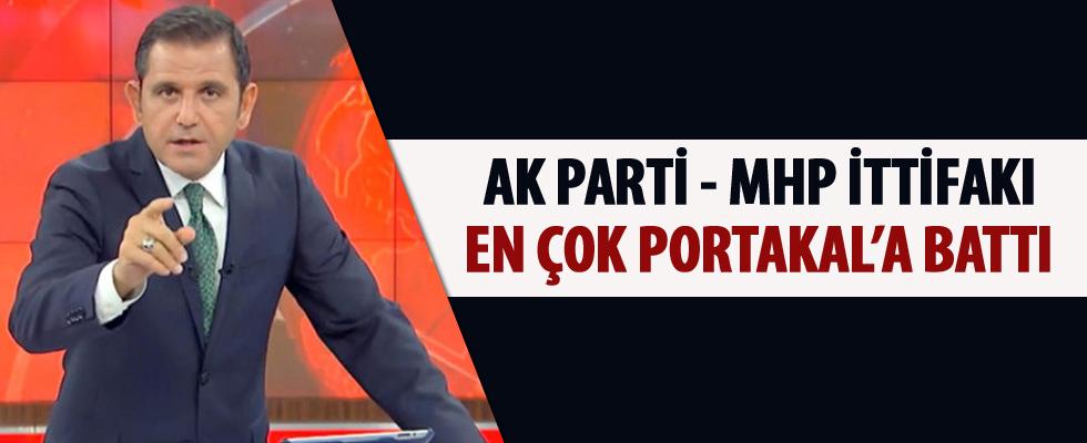 AK Parti - MHP ittifakı en çok Portakal'a battı