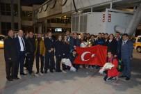 İSTANBUL EMNIYET MÜDÜRÜ - Avrupa Şampiyonlarına İstanbul'da Muhteşem Karşılama