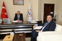 TÜRK KÜLTÜRÜ - Başkan Cabbar ERÜ Rektörü Muhammet Güven'i Ziyaret Etti