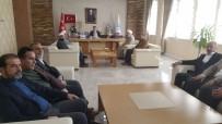 Başkan Gülenç'e Taziye Ziyaretleri