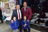 BALCı - Başkan Yağcı'dan Kapalı Pazar Esnafına Ziyaret