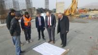 İNŞAAT ALANI - Bor Belediyesi Yeni Hizmet Binası Yapılıyor