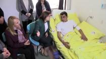ERSİN ARSLAN - Büyükşehir Belediye Başkanı Şahin'den Afrin Gazisine Ziyaret