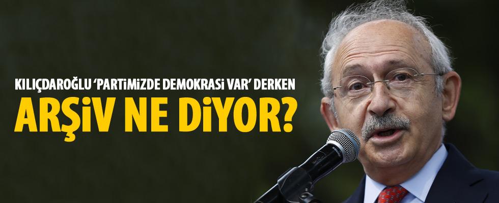Kılıçdaroğlu: Kurultayımızda demokrasi vardı