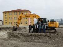 EMNİYET AMİRLİĞİ - Domaniç'te Hisar İlkokulu'nun Yapımına Başlandı