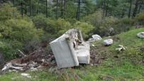 BELDIBI - Duyarsız Arıcılar Ormanları Çöplüğe Çeviriyor