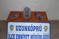VOTKA - Edirne'de Kaçak İçki Operasyonu