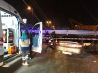 BAĞDAT CADDESI - Evli Çifti Trafik Kazası Ayırdı