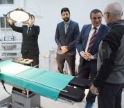 İl Sağlık Müdürü Taşçı Lapseki Devlet Hastanesini İnceledi