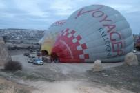 KUŞ BAKıŞı - Kapadokya'da Balon Uçuşları İptal Edildi