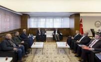 MİMARLAR ODASI - KAYMOS VE Mimarlar Odası Yönetimleri Başkan Çelik'i Ziyaret Etti