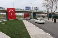 DEVLET BAHÇELİ - Köprülü Kavşak Türk Bayraklarıyla Donatıldı
