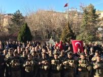 Kulp'ta 36 Güvenlik Korucusu Afrin'e Uğurlandı