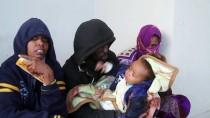 AFRİKALI - Libya Açıklarında 120 Göçmen Kurtarıldı