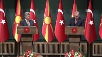 MEVLÜT ÇAVUŞOĞLU - Makedonya Cumhurbaşkanı İvanov Ankara'da