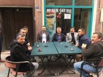 AHILIK - Milletvekili Açıkgöz Çarşı Esnafını Ziyaret Etti