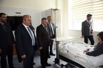 METIN ÇELIK - Milletvekili Çelik Ve Başkan Arslan, Yeni Taşköprü Devlet Hastanesi'ni Ziyaret Etti