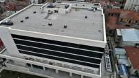 TAKSIM - (Özel) Yeniden İnşa Edilen Taksim İlk Yardım Hastanesi'nin Son Durumu Havadan Görüntülendi
