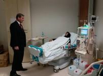 İSMAIL KARAKUYU - Protokolün Yeni Hastane Ziyareti