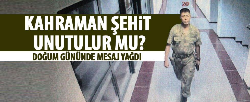 Şehit Ömer Halisdemir unutulmadı