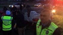 SILIVRI DEVLET HASTANESI - Silivri'de Trafik Kazası Açıklaması 1 Yaralı