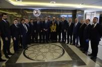 GÜMRÜK KAPISI - Şırnak Heyeti Sınır Ticaretinin Yeniden Düzenlenmesini Talep Etti