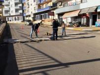TRAFİK LEVHASI - Şırnak Şehiriçi Trafik Uyarı Levhası Uygulaması Yapıldı
