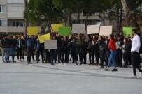 ÇOCUK İSTİSMARI - Söke'de Gençler Çocuk İstismarcılarına İdam İstedi