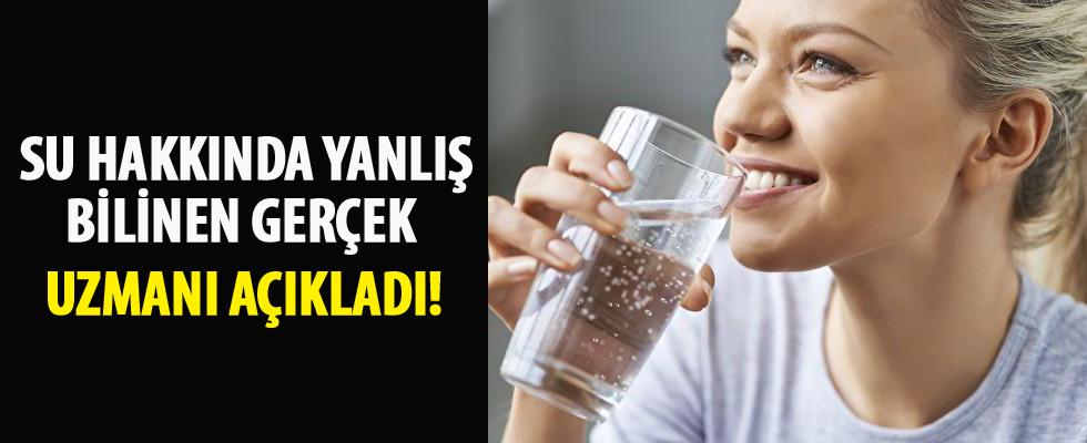 Su içerek güzelleşmek mümkün mü?