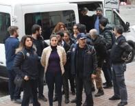 PROPAGANDA - Terör Propagandası Yapan 6 HDP'li Yönetici Adliyeye Sevk Edidli