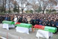 ÖMER TORAMAN - Tokat'ta Yanarak Ölen 5 Kişiden 3'Ü Toprağa Verildi