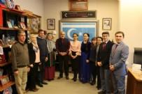 UZUN ÖMÜR - Türk Dünyasından Basın Mensupları Yalçın Topçu'yu Ziyaret Etti