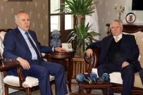 HATAY VALİSİ - Aziz Yıldırım'dan Hatay Valisi Erdal Ata'ya Ziyaret