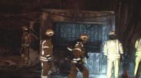 TOPKAPı - Barakada Çıkan Yangın Araçlara Sıçradı