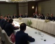 TÜRKIYE BAROLAR BIRLIĞI - Baro Başkanı Av. Adem Aktürk, Adalet Bakanı Gül'ün Konuğu Oldu