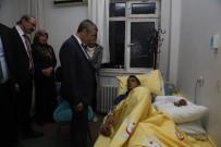 TÜRK ORDUSU - Belediye Başkanı Tahmazoğlu, Yaralı Askeri Ziyaret Etti