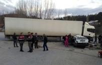 Bursa'da Trafik Kazası Açıklaması 1 Ölü, 1 Yaralı